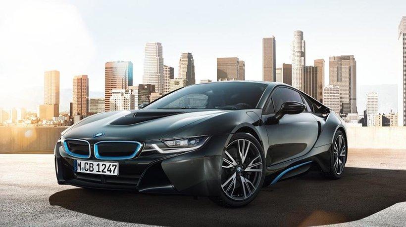 The stunning BMW i8