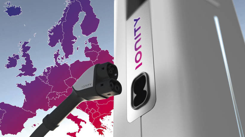 Ionity EV charging stations