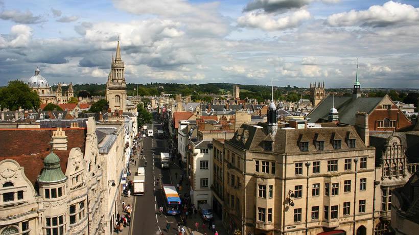 Oxford, city centre