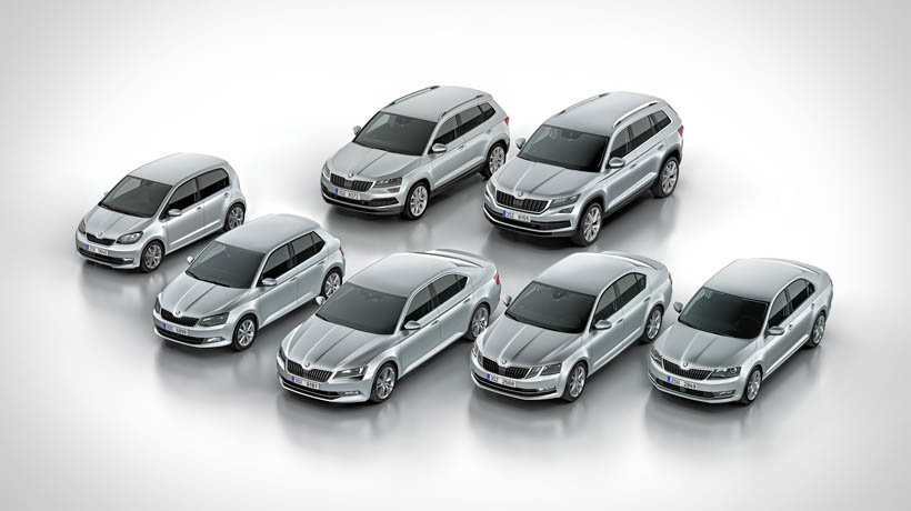 Skoda is planning to launch five fully electric models by 2025