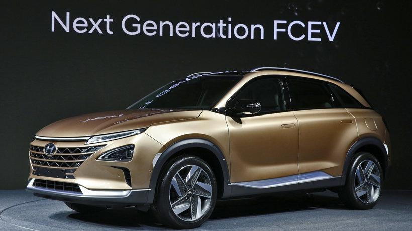 Hyundai hydrogen fuel cell SUV