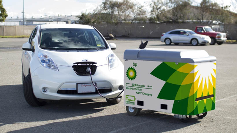 BP mobile electric chargers