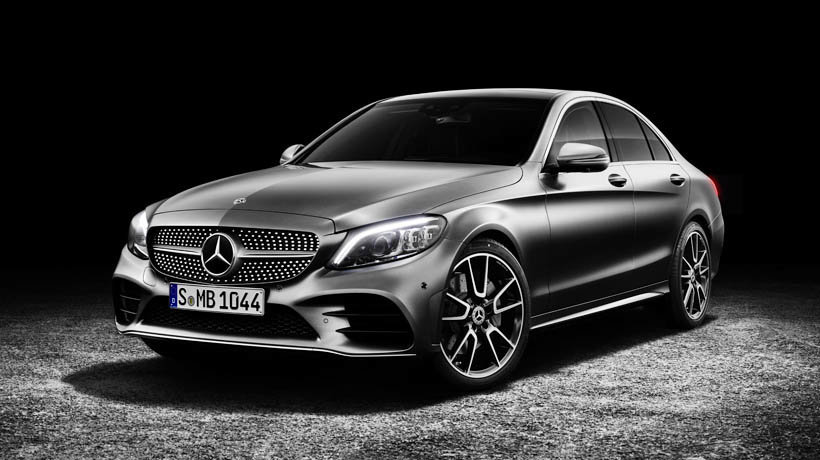 The new C-Class has had a facelift