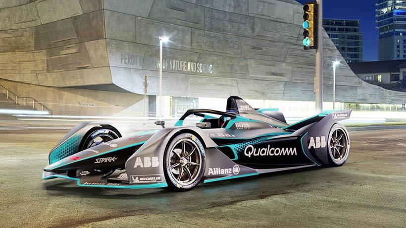 Second generation Formula E car