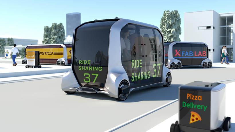 Toyota's e-Palette Concept Vehicle
