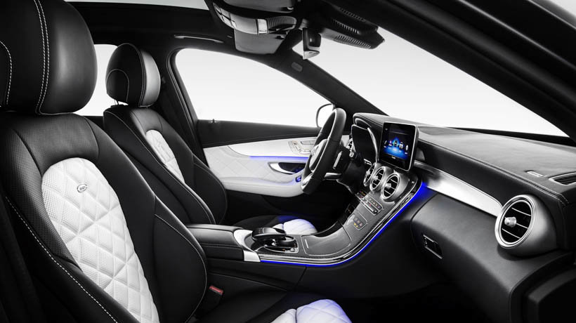 The C-Class' interior has also been reworked