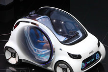 Smart Vision EQ at Frankfurt Motor Show 2017