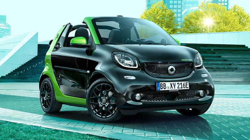 Smart Fortwo Electric Cabrio